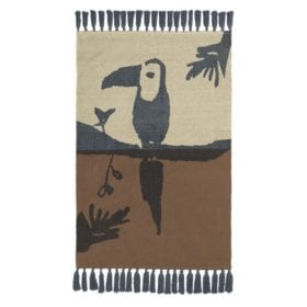 Nofred – Toucan Rug – Brown