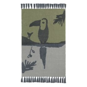 Nofred – Toucan Rug – Petroleum