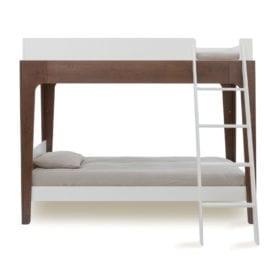 Oeuf  NYC – Junior Bunk Bed – Perch – Walnut/White