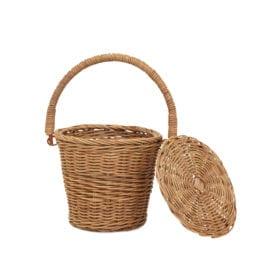 Olli Ella – Rattan Apple Basket – Small
