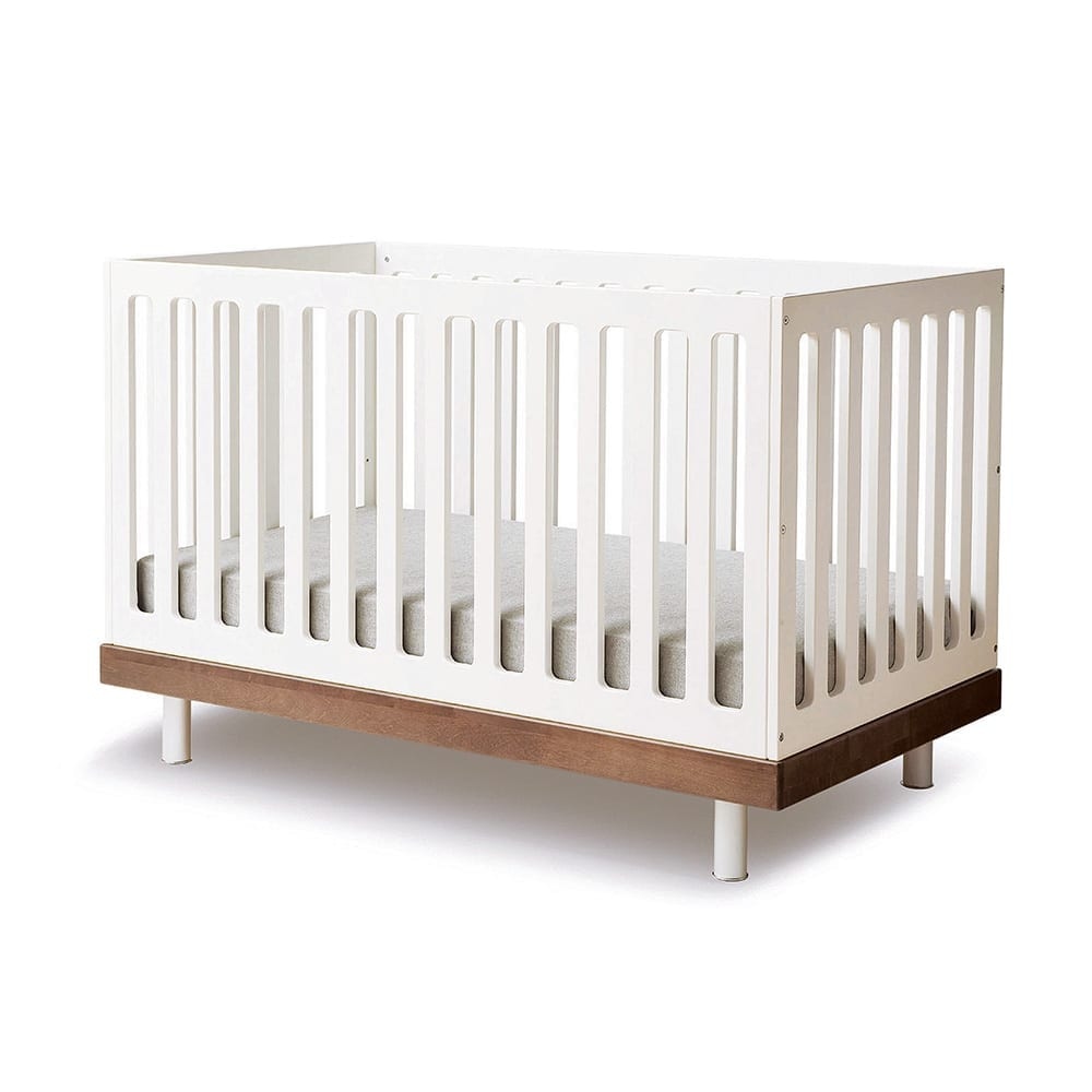 Baby Cot – Classic – Walnut