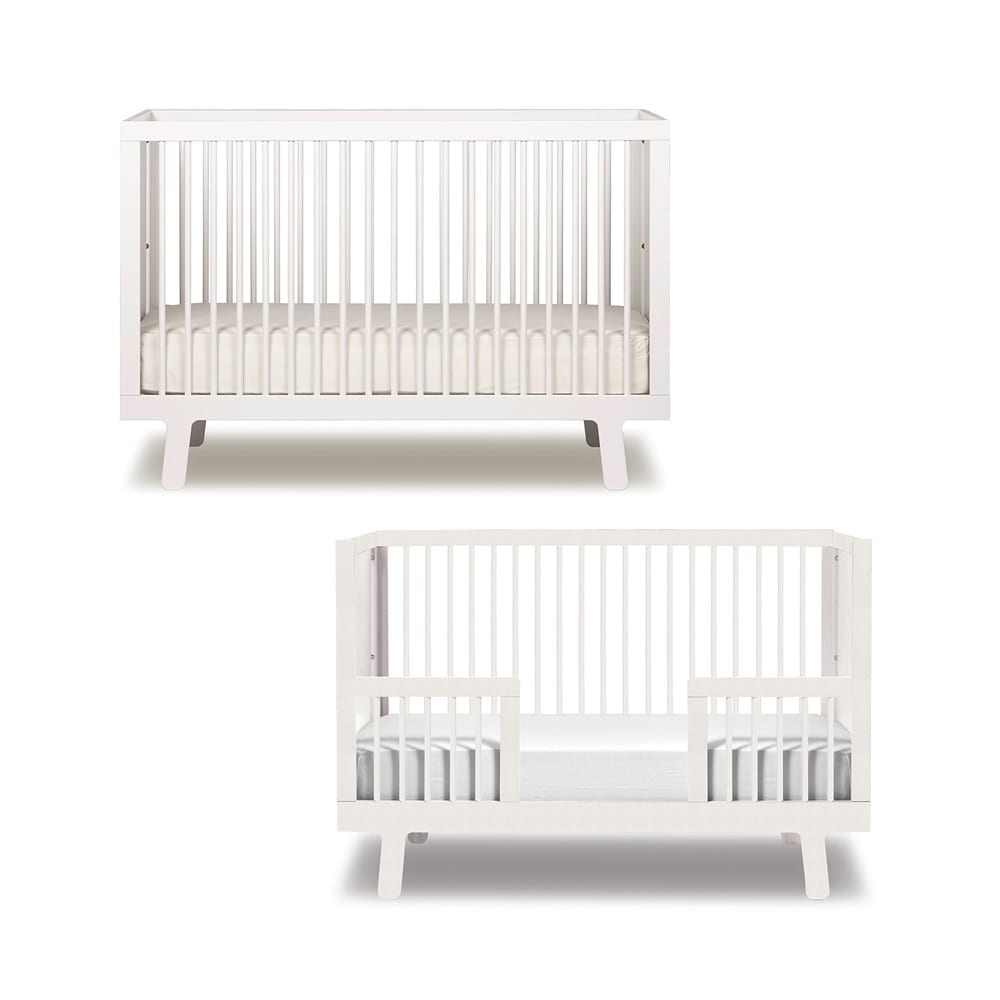 Conversion Kit for Baby Bed- Sparrow – White