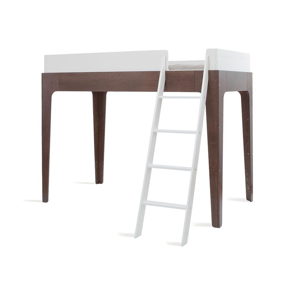 Hoogslaper – Junior Loft Bed – Perch – Walnoot/Wit