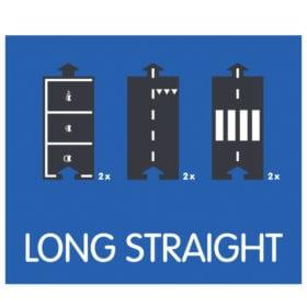 Waytoplay – Flexible Spielstraße – Long Straight Erweiterungsset