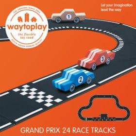 Waytoplay – Flexible Spielstraße – Grand Prix – 24 Teile