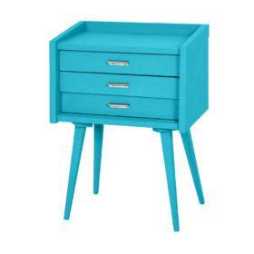 Laurette – Nachtkastje Secrets – Turquoise