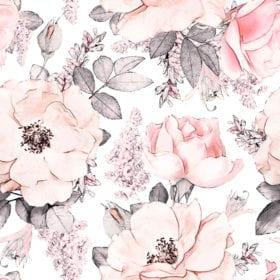 Dekornik – Muursticker – Magnolies Garden – 100 x 280 cm