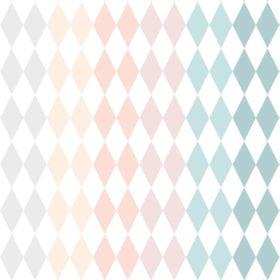 Dekornik – Tapete – Kariert Regenbogen – 100 x 280 cm