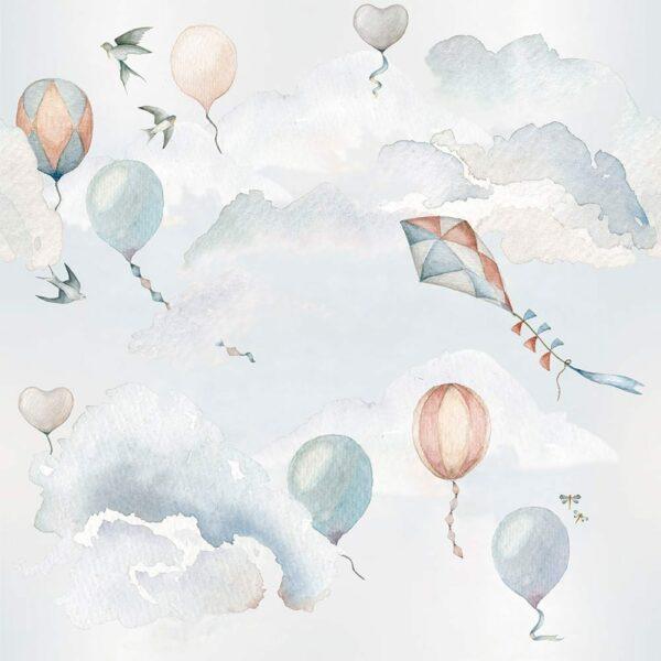 DEKO.TAP.059-Dekornik-Balloons-Fairytale-Wallpaper