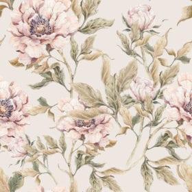 Wallpaper – Peony – 100 x 280 cm