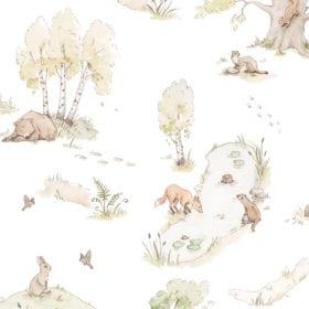Dekornik – Muursticker – Fairytale Forrest – 100 x 280 cm