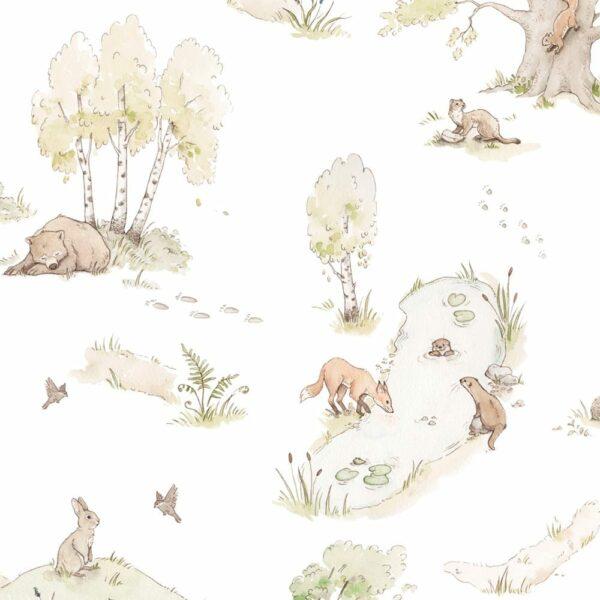 DEKO.TAP.072-Dekornik-Fairytale-Forest-Wallpaper