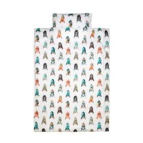 Studio Ditte – Dekbedovertrek Baby – Raket – 100 x 135 cm