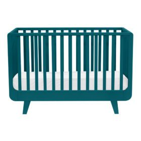 Laurette – Baby Cot Le Joli Môme – 70 x 140 cm – Blue Canard