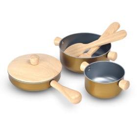 Plan Toys – Cooking Utensils Set