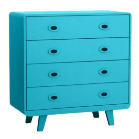 Laurette – Commode Toi & Moi – Turquoise