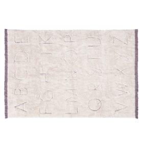 Wasbaar kindervloerkleed – RugCycled ABC – 140 x 200 cm