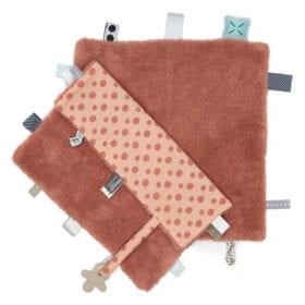 Snoozebaby Amsterdam – Comfort Toy/Blanket – Sweet Dreaming – Dusty Rose
