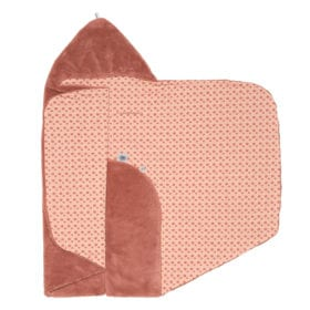 Snoozebaby Amsterdam – Wrap Blanket – Trendy Wrapping – Dusty Rose