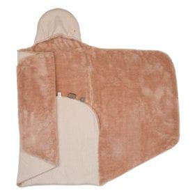 Snoozebaby Amsterdam – Wrap Blanket – Trendy Wrapping – Milky Rust (Organic)