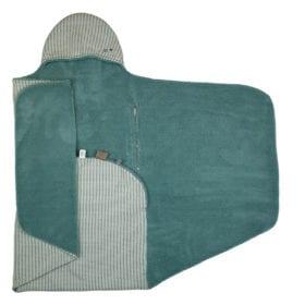 Wikkeldeken – Trendy Wrapping – Smokey Green (Organic)