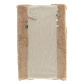 Snoozebaby Amsterdam – Changing Mat Cover – Happy Dressing – Milky Rust (Organic)