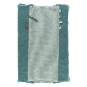 Changing Mat Cover – Happy Dressing – Smokey Green (Organic)