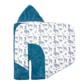 Snoozebaby Amsterdam – Wrap Blanket – Trendy Wrapping – Storm Blue