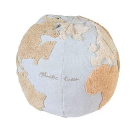 Poef – World Map – 45 x Ø 50 cm