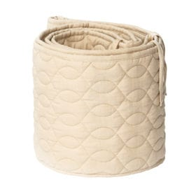 Bed Bumper – Quilted – Straw Beige