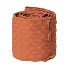 Bed Bumper – Quilted – Sweet Tea Brown