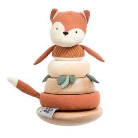 Sebra – Stacking & Tilting Fox – Sparky Fox Tail Red
