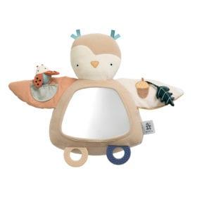 Sebra – Activity Toy – Blinky the Owl – Maple Beige