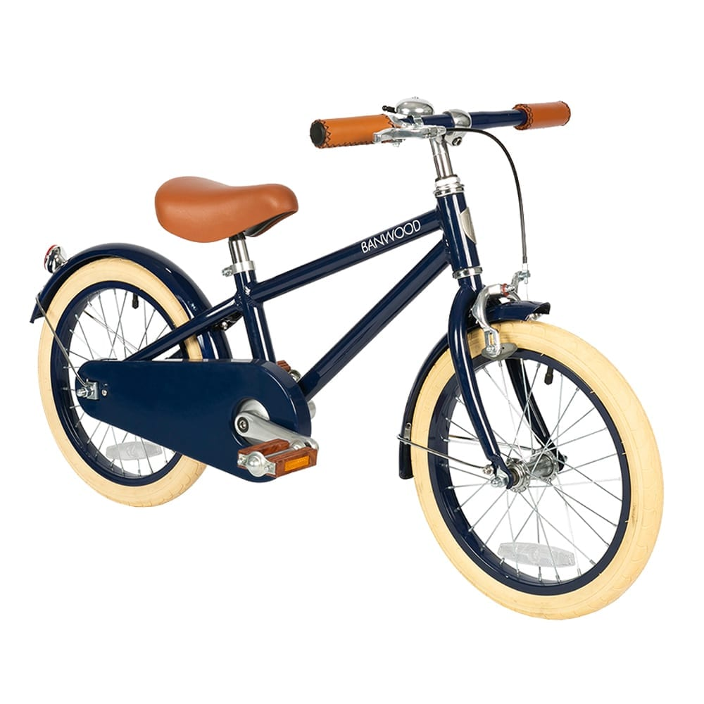 "Banwood – Classic Bike 16"" – Navy Blue"