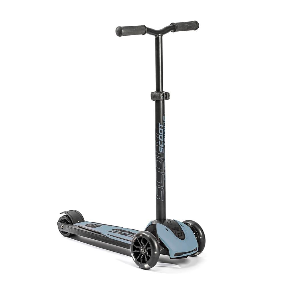 Scoot & Ride – Highwaykick 5 + LED – Steel