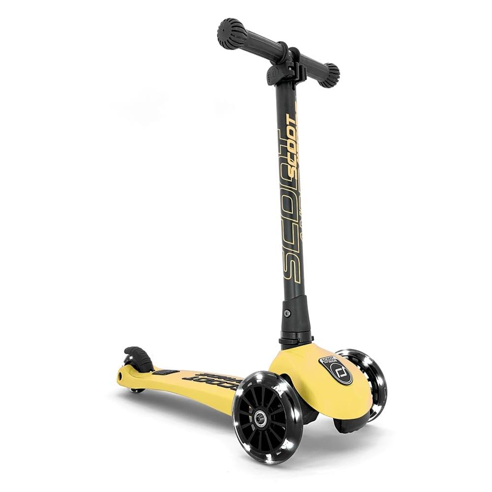 Scoot & Ride – Highwaykick 3 +LED – Lemon