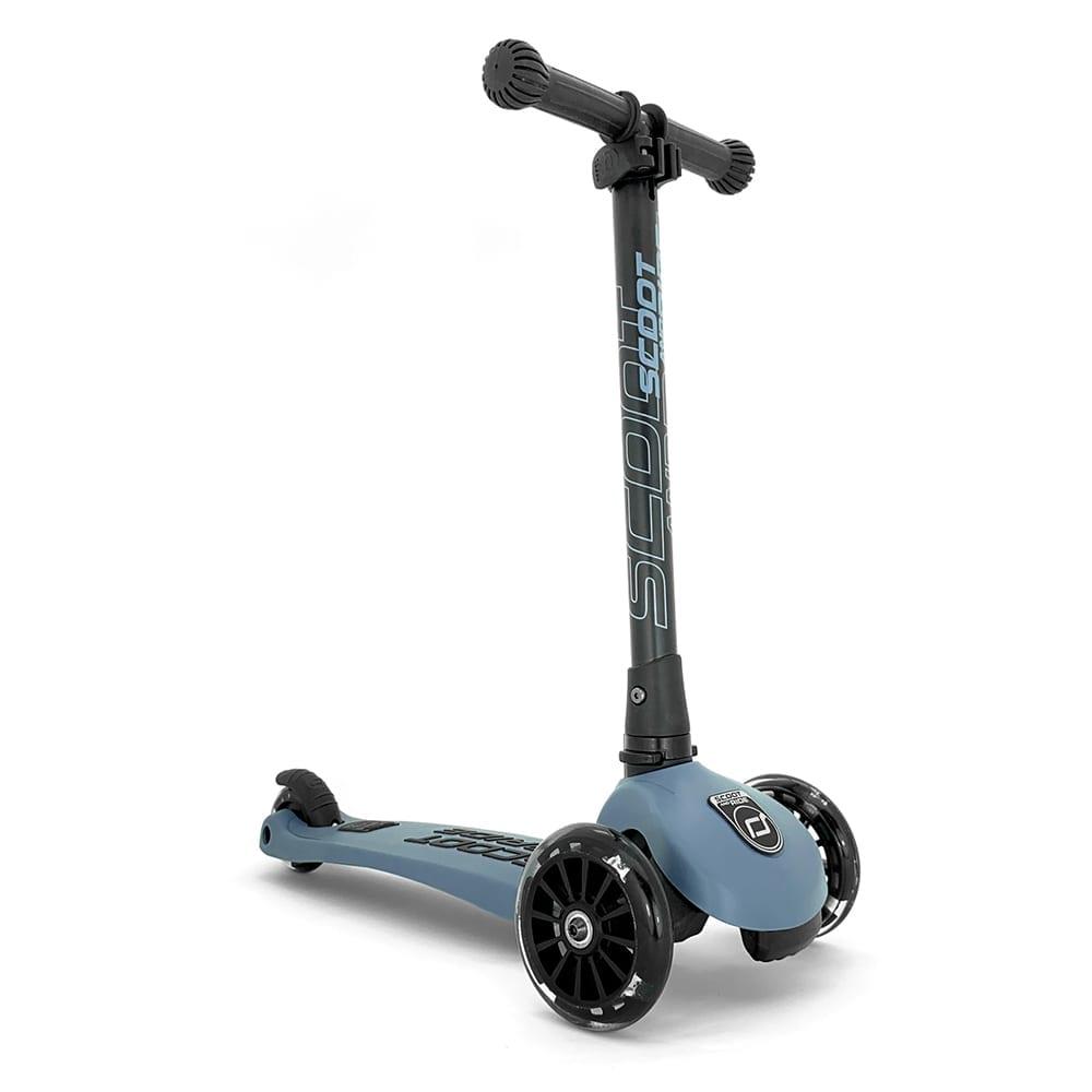 Scoot & Ride – Highwaykick 3 +LED – Steel