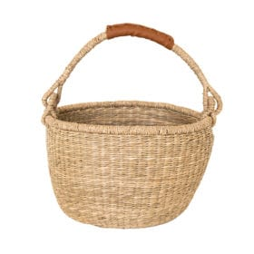 Olli Ella – Seagrass Basket – Midi Bolga