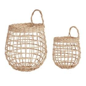 Olli Ella – Seagrass Baskets – Onion Duo
