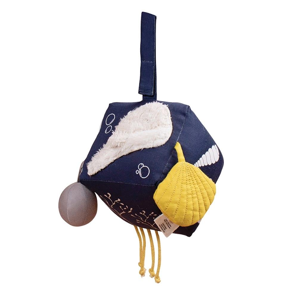 Filibabba – Aktivitätsspielzeug – Soft Cube – Unter dem Meer