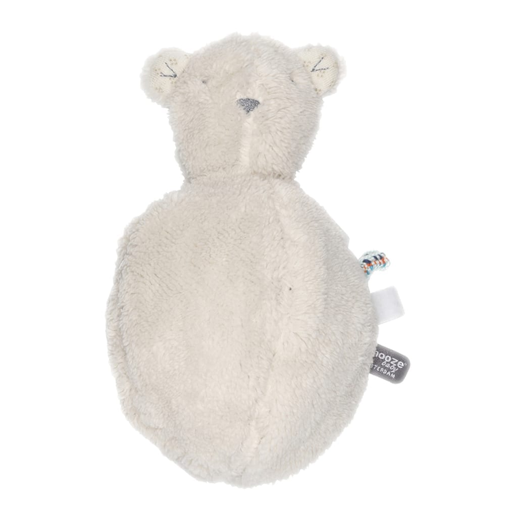 Snoozebaby Amsterdam – Soft Toy – Bobby Bear Ball – Stone Beige (Organic)