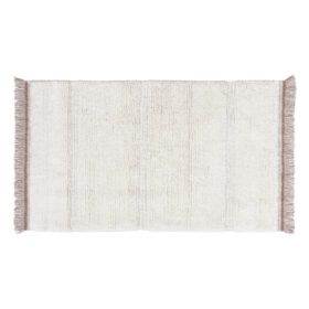 Woolable – Wollteppich Steppe – Sheep White – 80 x 140 cm