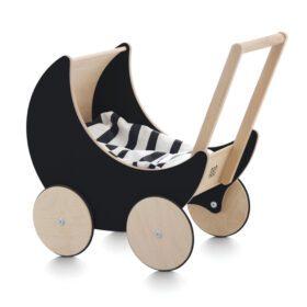 Ooh Noo – Speelgoedwagen – Hout/Zwart