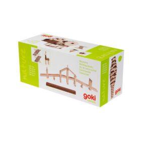 Goki – Building Blocks – Nature/Dark Brown (200pcs.)