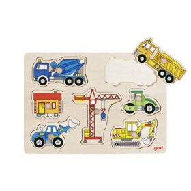 Goki – Puzzle – Building Site Vehicles