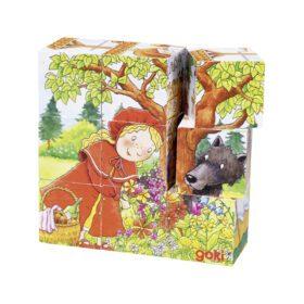 Goki – Puzzle – Fairy Tale Cube