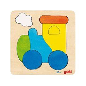 Goki – Puzzle – Lokomotive