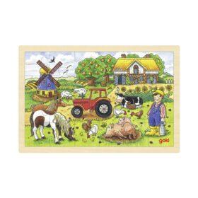 Goki – Puzzle – Mr. Millers Farm