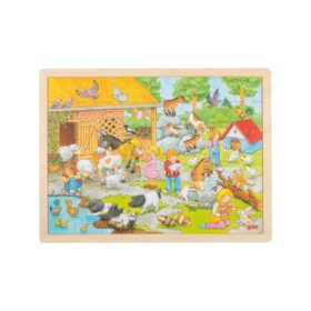 Goki – Puzzle – Petting Zoo