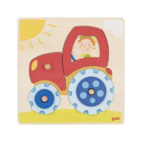 Goki – Puzzle – Tractor
